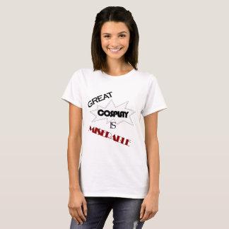 素晴らしいCosplayは悲惨-捕虜です Tシャツ