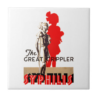素晴らしいCripplerの~の梅毒 タイル