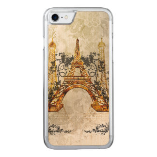 素晴らしいeiffeltower carved iPhone 7 ケース
