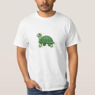 素晴らしいEmojiのカメのTシャツ! Tシャツ