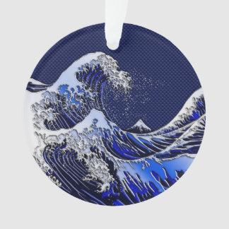 素晴らしいHokusaiの波のモダンのスタイル オーナメント