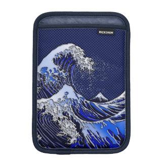 素晴らしいHokusaiの波のモダンのスタイル iPad Miniスリーブ