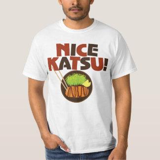 素晴らしいKatsu! TonkatsuのグラフィックのTシャツ Tシャツ