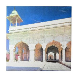 素晴らしいMughal Shah Jahanの王位ホール タイル