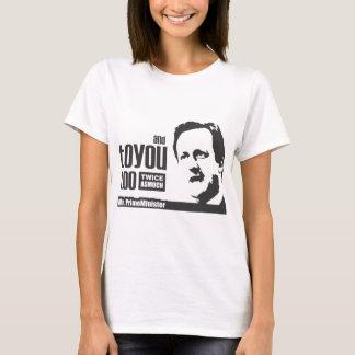 素晴らしいPMカメロンのTシャツ Tシャツ
