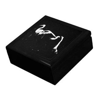 素晴らしいSnowy白鷺の鳥の野性生物の動物のギフト用の箱 ギフトボックス