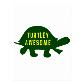 素晴らしいTurtley全く ポストカード