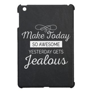 素晴らしくやる気を起こさせるな生命引用文を今日作って下さい iPad MINIカバー