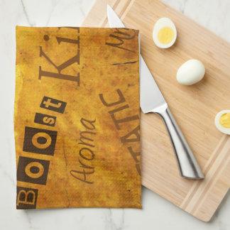 素晴らしく前向きな台所タオル! キッチンタオル