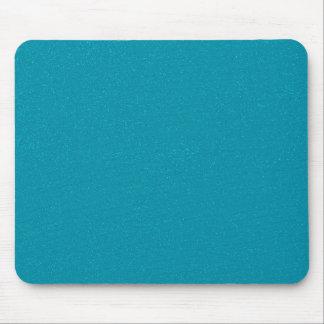 素晴らしく模造のなグリッターのPANTONEのスキューバ青 マウスパッド