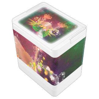 素晴らしく白熱[赤熱]光を放つな花 IGLOOクーラーボックス