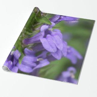 素晴らしく青いロベリアの包装紙 ラッピングペーパー