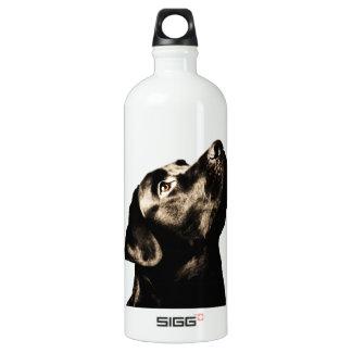 素晴らしく黒いラブラドル・レトリーバー犬 ウォーターボトル