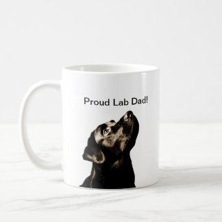 素晴らしく黒いラブラドル・レトリーバー犬 コーヒーマグカップ