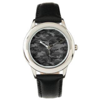 素晴らしく黒い軍隊No6 腕時計