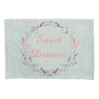 素朴でシックな水のストライプの甘美な夢 枕カバー