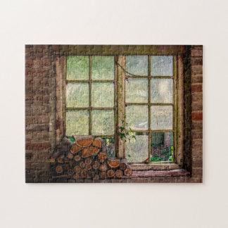 素朴で古い納屋の写真のジグソーパズル ジグソーパズル