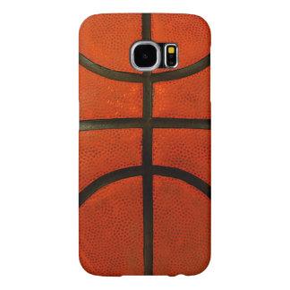 素朴で擦り切れたなバスケットボール SAMSUNG GALAXY S6 ケース