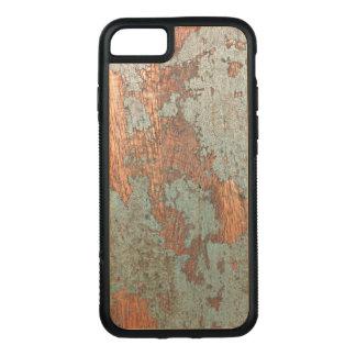 素朴で色彩の鮮やかな木製の電話箱 CARVED iPhone 8/7 ケース