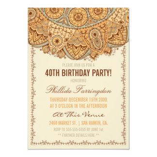 素朴なぼろきれのDoilyの誕生会 カード