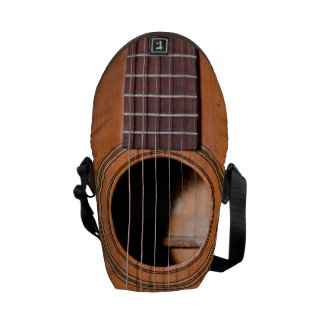 素朴なギター メッセンジャーバッグ