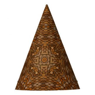 素朴なスケールの万華鏡のように千変万化するパターンのカスタマイズ可能なパーティーの帽子 パーティーハット