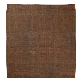 素朴なタケ木製の穀物の質の一見 バンダナ