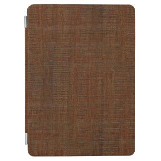 素朴なタケ木製の穀物の質の一見 iPad AIR カバー