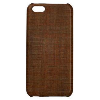 素朴なタケ木製の穀物の質の一見 iPhone 5C カバー