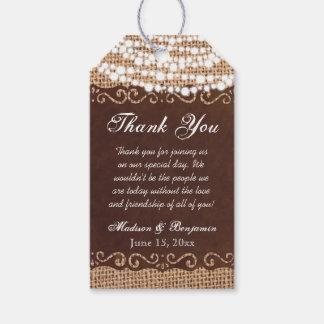 素朴なライト結婚はメッセージカード感謝していしています ギフトタグ