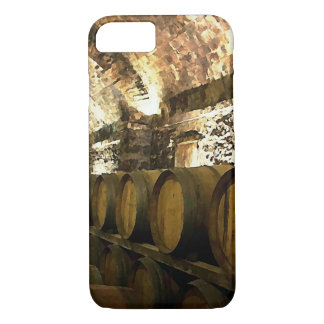 素朴なワイン貯蔵室 iPhone 8/7ケース