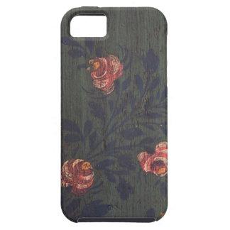 素朴なヴィンテージの花 iPhone SE/5/5s ケース