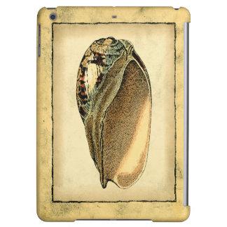素朴なヴィンテージの貝殻 iPad AIRケース