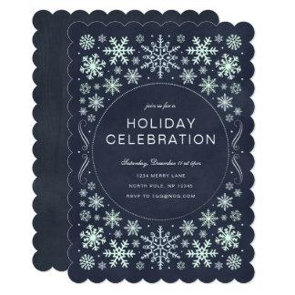 素朴な休日のパーティの招待状 カード