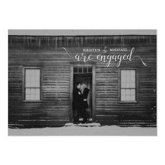 素朴な婚約 カード