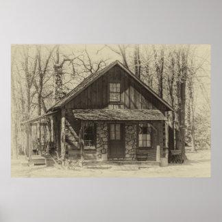 素朴な小屋 ポスター
