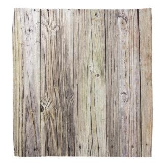 素朴な懇願を用いる風化させた木製板 バンダナ
