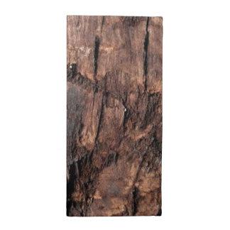 素朴な木製のナプキンセット ナプキンクロス