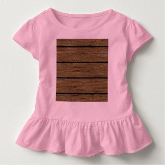 素朴な木製の板15216 トドラーTシャツ