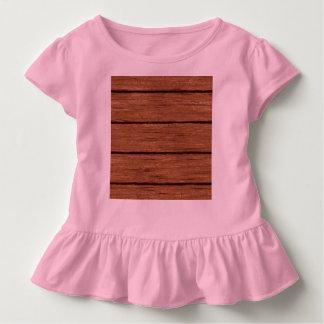 素朴な木製の板15216b トドラーTシャツ