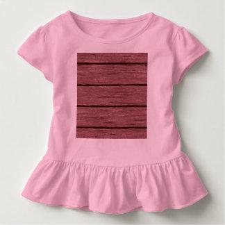 素朴な木製の板15216c トドラーTシャツ