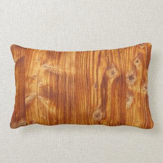 素朴な木-装飾用クッション ランバークッション