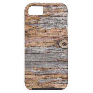 素朴な材木およびネイル iPhone SE/5/5s ケース