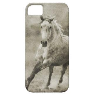 素朴な疾走するAndalusian馬 iPhone SE/5/5s ケース