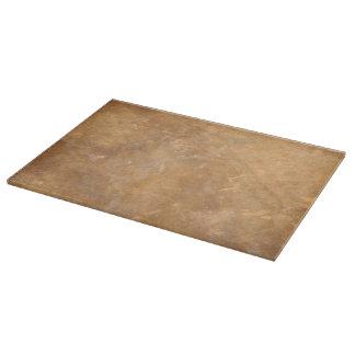 素朴な石造りの一見のまな板 カッティングボード