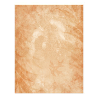 素朴な砂岩グランジなカシの葉 レターヘッド