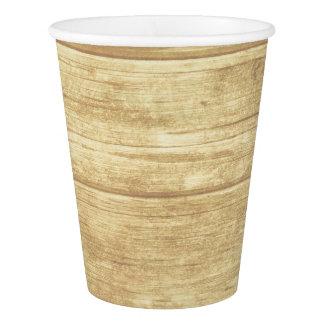 素朴な納屋の木製の国のパーティー-結婚式 紙コップ