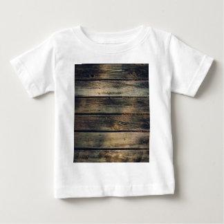 素朴な納屋木 ベビーTシャツ