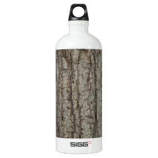 素朴な自然な樹皮の迷彩柄のカムフラージュ ウォーターボトル