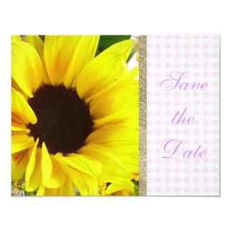 素朴な花のピンクの花嫁の/家のGrosch結婚 カード